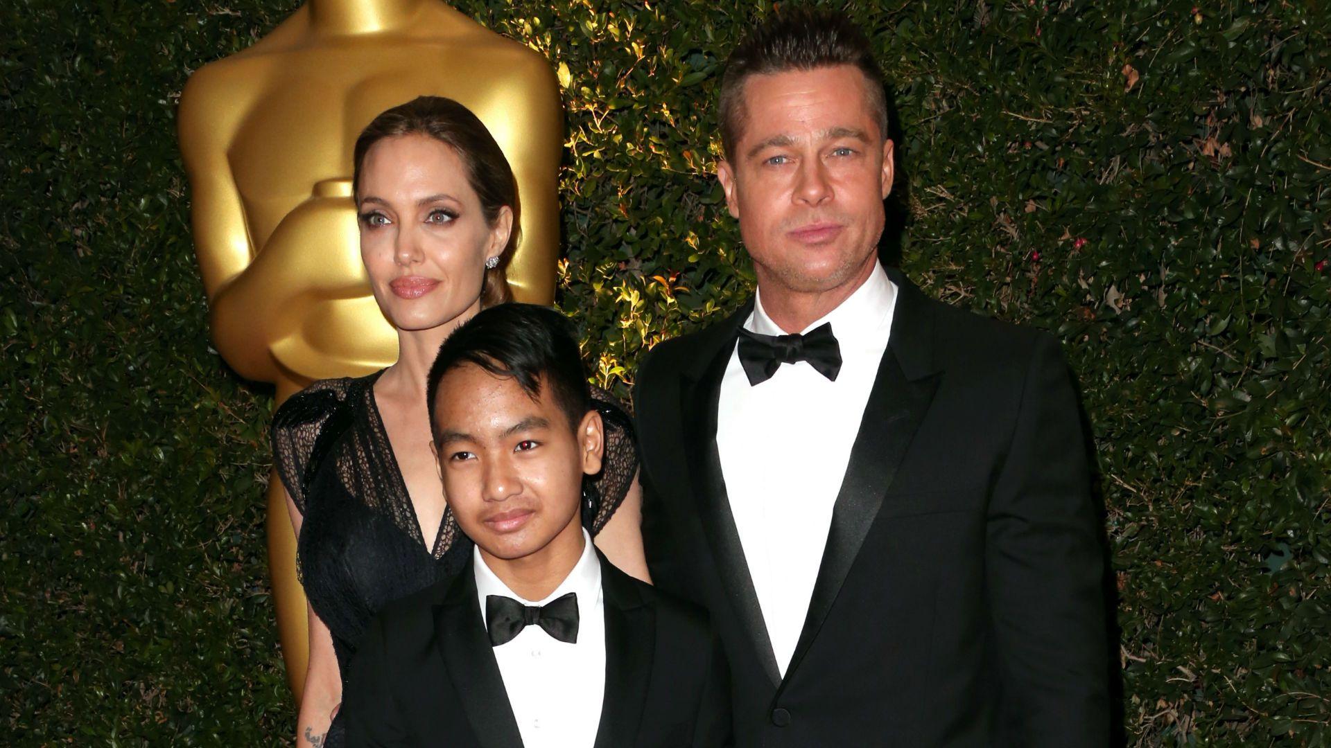 El hijo de Brad Pitt habla sobre como es su relación con su padre
