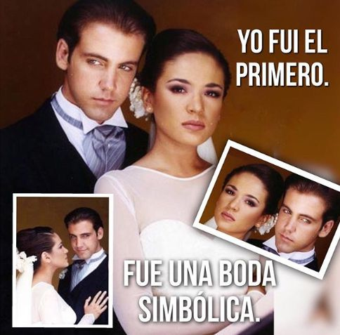 Famoso actor revela foto de boda con Yolanda Andrade