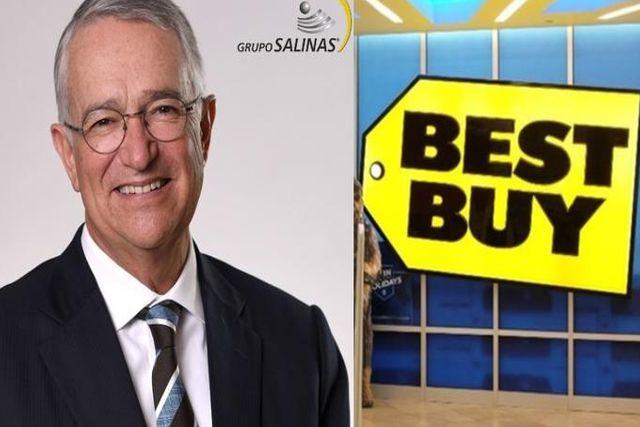 """""""Aquí les cuidamos a sus clientes de Best Buy"""": Salinas Pliego"""