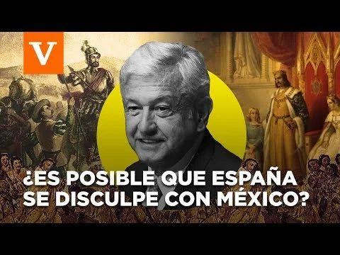 AMLO revive el tema de la Conquista de América