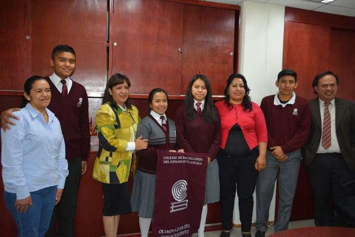 Alumnos del COBAT representarán a Tlaxcala en 0limpiada Nacional de Física