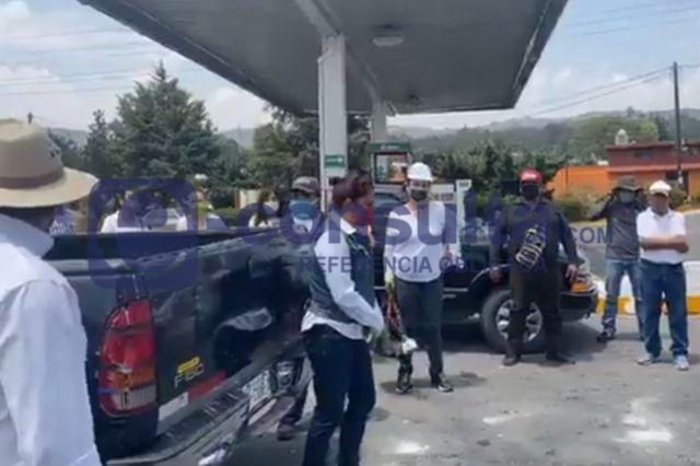 Ayuntamiento de Totolac distribuye despensas ante la contingencia COVID 19