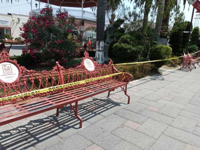 El Confinamiento en sus hogares previene el contagio de Coronavirus en Ixtacuixtla