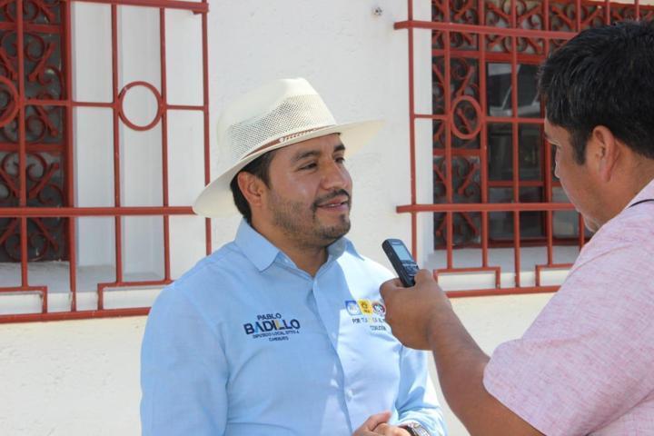 Se desespera el PRI en Apizaco ante la poca aceptación de su candidato: Pablo Badillo