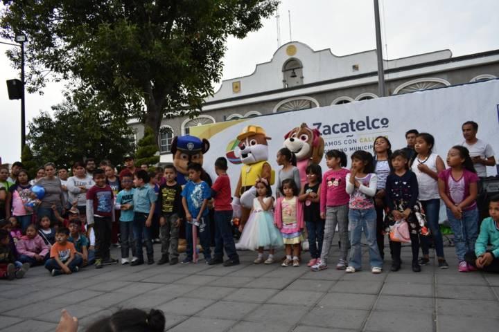 Espectacular Festejo del Día del Niño en Zacatelco