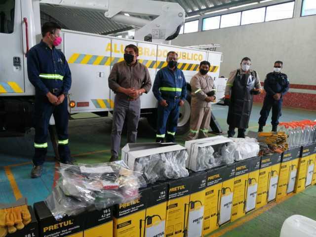 Totolac no frena servicios por contingencia y refuerza seguridad de trabajadores