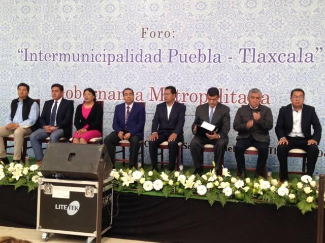 Inicia Foro de Intermunicipalidad Puebla-Tlaxcala en SPM