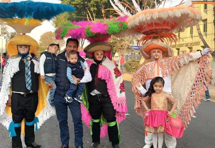 SAGA asiste como cada año al desfile de Carnaval en Tlaxcala