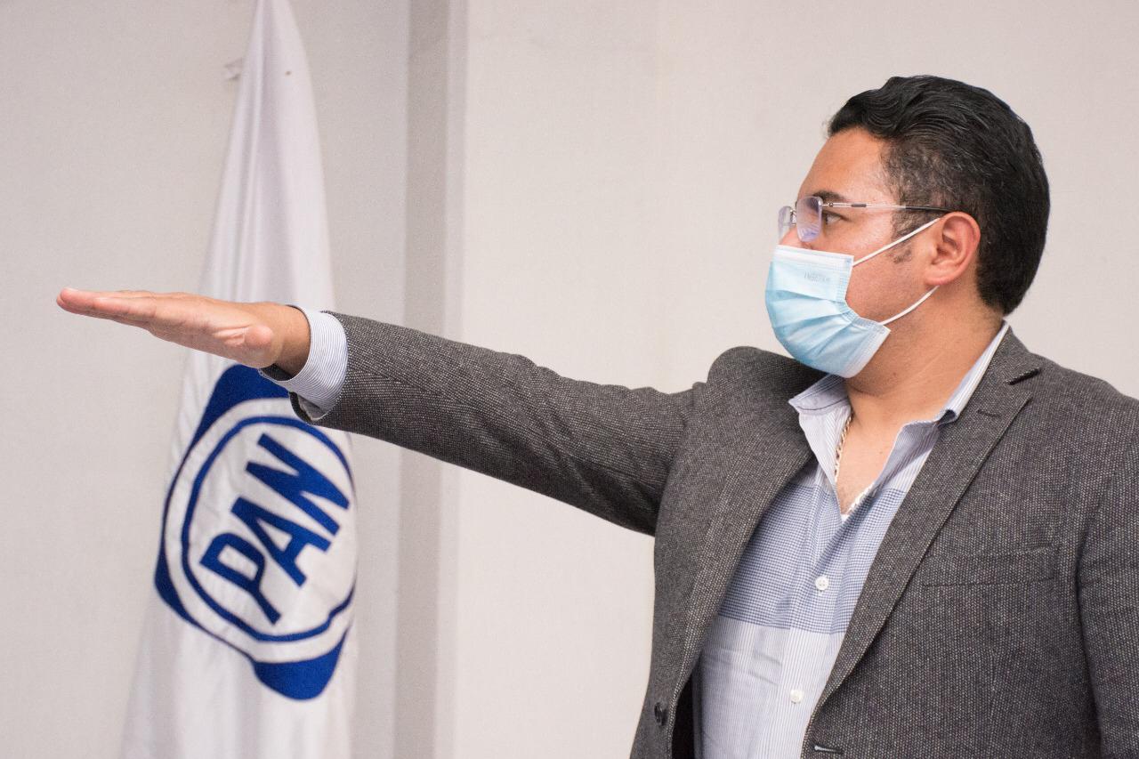 Julio César Hernández, nuevo coordinador de Alcaldes del PAN
