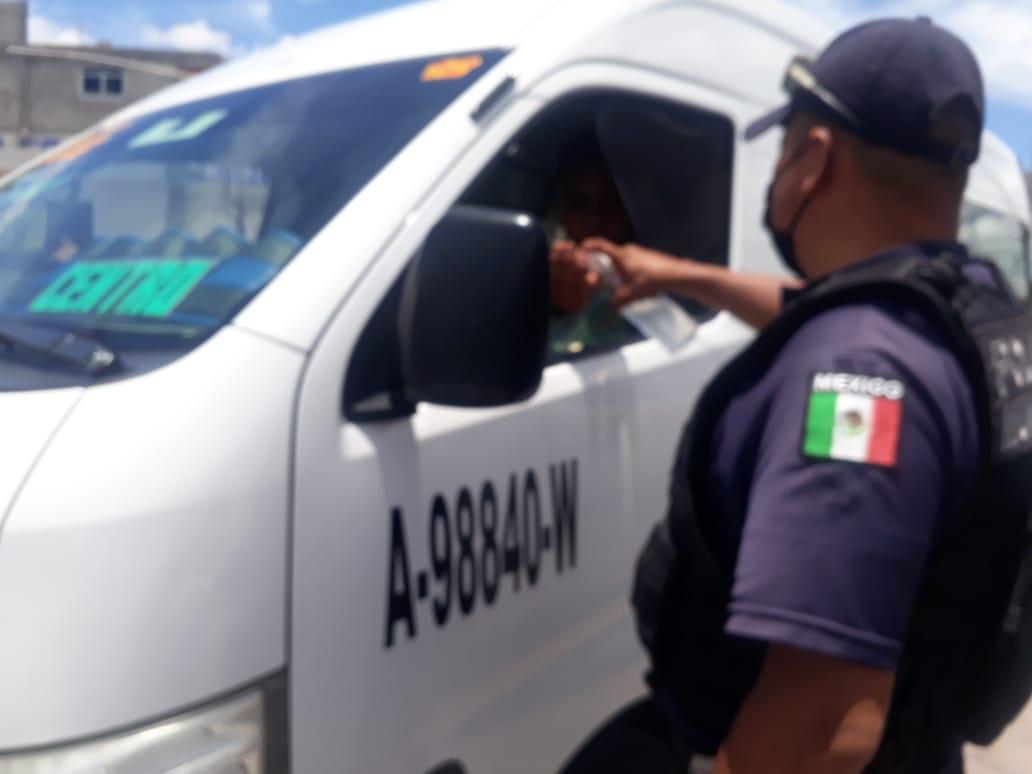 Realiza policía de Ixtenco inspección sanitaria