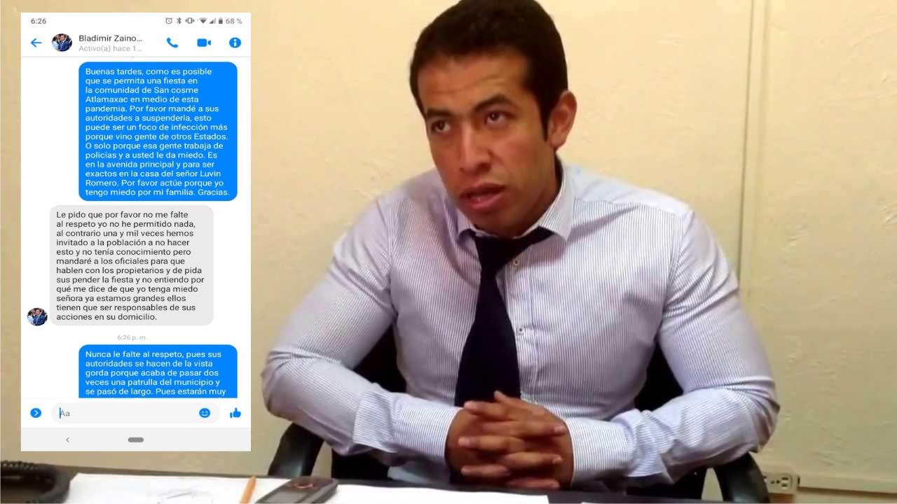 Alcalde de Tepeyanco pide que no le falten al respeto ante su incapacidad
