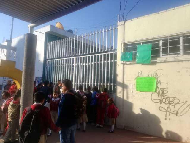 Primaria de SMP fue asaltada durante la madrugada, se llevaron proyectores