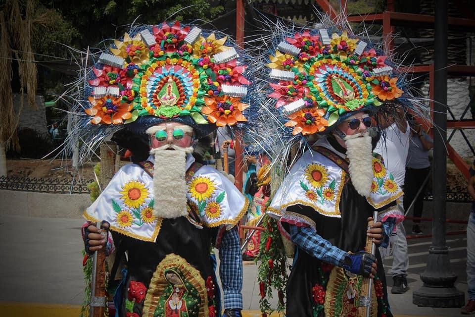 Mosquetones se imponen en el carnaval de Nativitas 2020