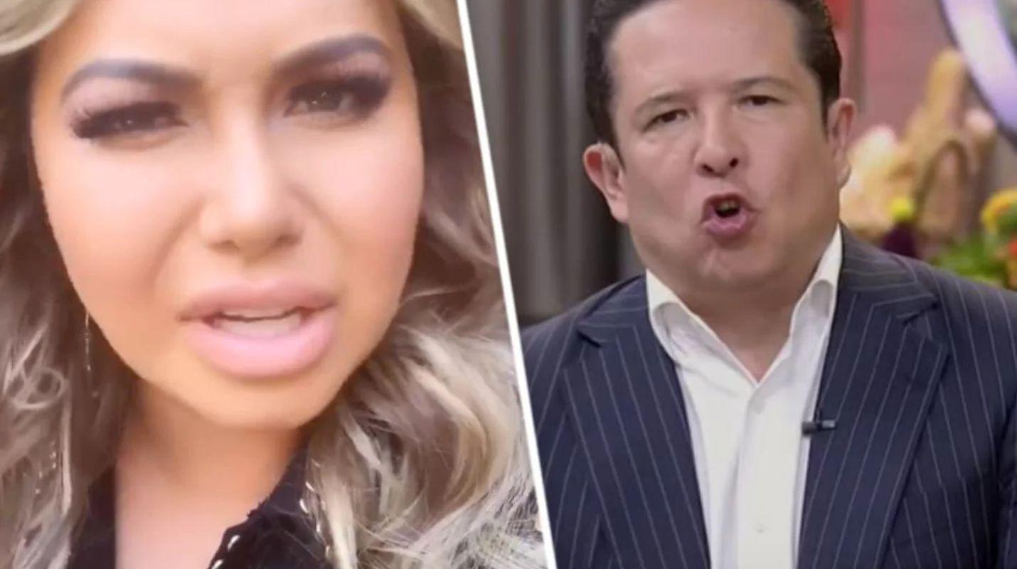 Periodista ataca a Chiquis Rivera por agresión a camarógrafo durante su boda
