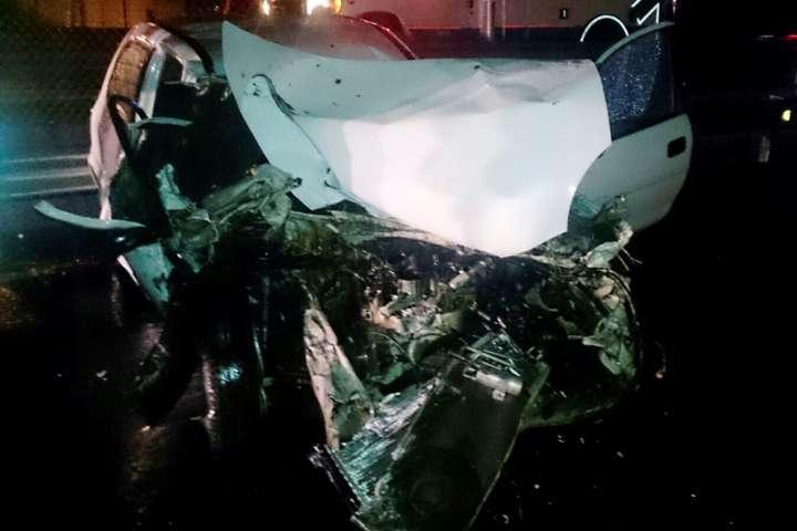 Protección civil de Panotla libera a conductor atrapado tras sufrir accidente