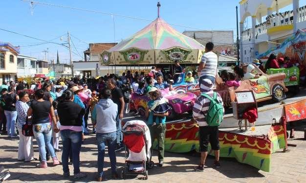 Con gran éxito el Ayuntamiento de Tepetitla realizó el festejo de