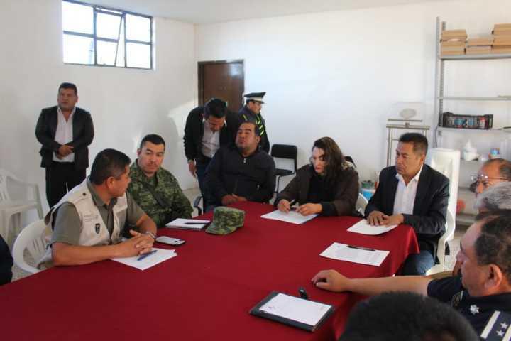 Llevan a cabo recorrido de seguridad en San Isidro Buensuceso y Zonas Aledañas
