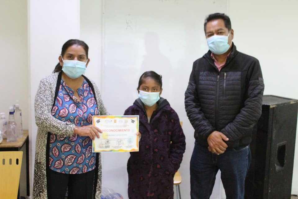 DIF municipal de San Pablo Del Monte felicito y agradeció la gran labor de los niñas y niños difusores