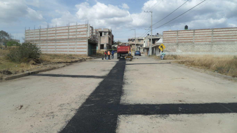 Rehabilitan y construyen 817 metros lineales de drenaje sanitario en San Pedro, SPM