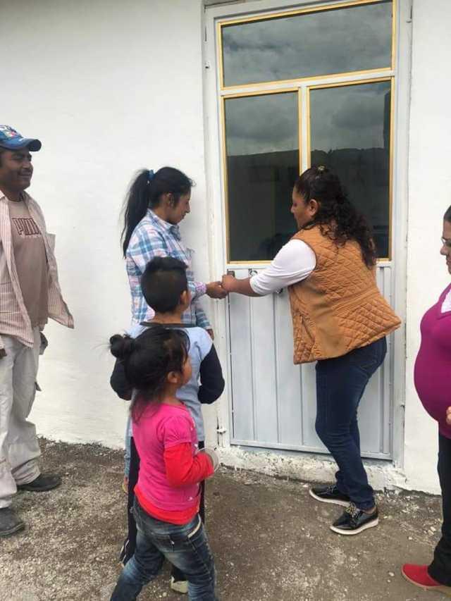 El DIF municipal mejora la calidad de vida de una familia de escasos recursos