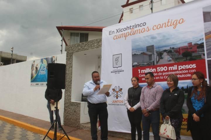 Badillo Jaramillo mejora la imagen urbana de la 5 de febrero