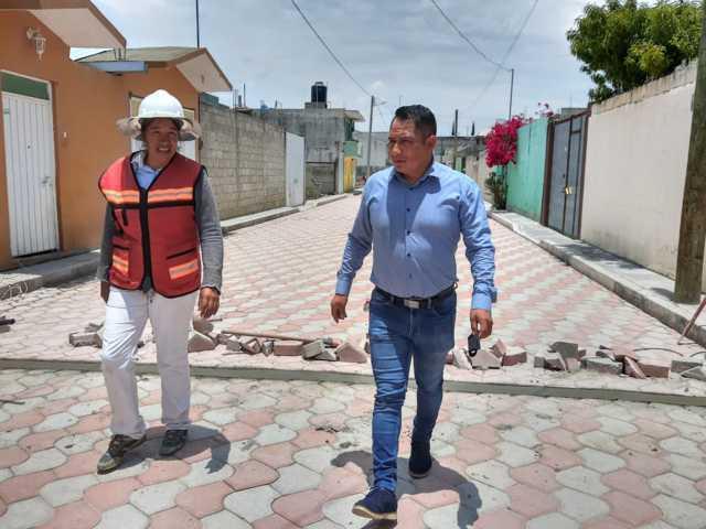 Covid no limita el progreso de Quilehtla: Oscar Cabrito
