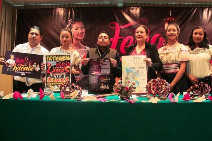 Autoridades municipales y estatales presentan la Feria Ixtenco 2018
