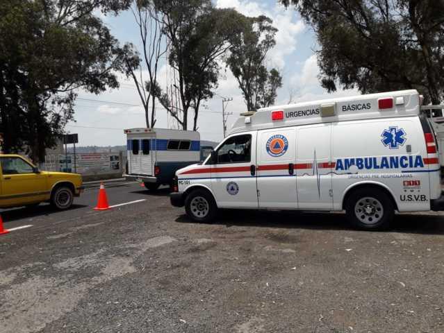 Colocan filtros sanitarios e informativos en accesos a Nanacamilpa