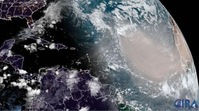 Nube de polvo del Sahara pasará sobre la Península de Yucatán