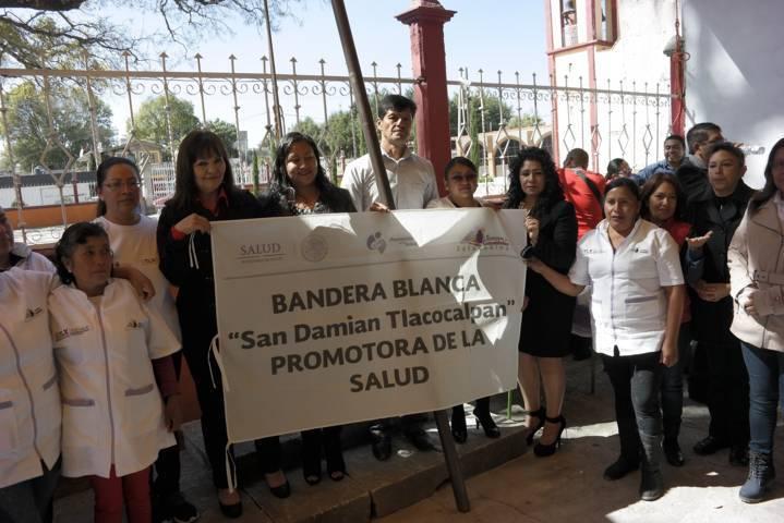 Certifican a Tlacocalpan como comunidad promotora de la salud