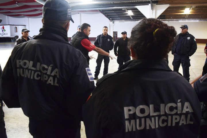 Inicia Policía Municipal de Tlaxco capacitación en materia de Protección Civil