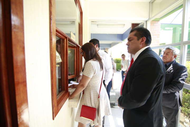 Presenta HDR denuncia ante PGJE por faltantes durante entrega-recepción