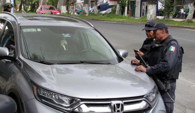 La secretaria de seguridad ciudadana recuperó nueve unidades con reporte de robo