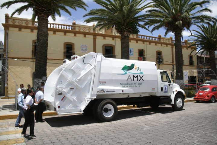 Con este compactador mejoraremos el servicio de recolección de basura: alcalde