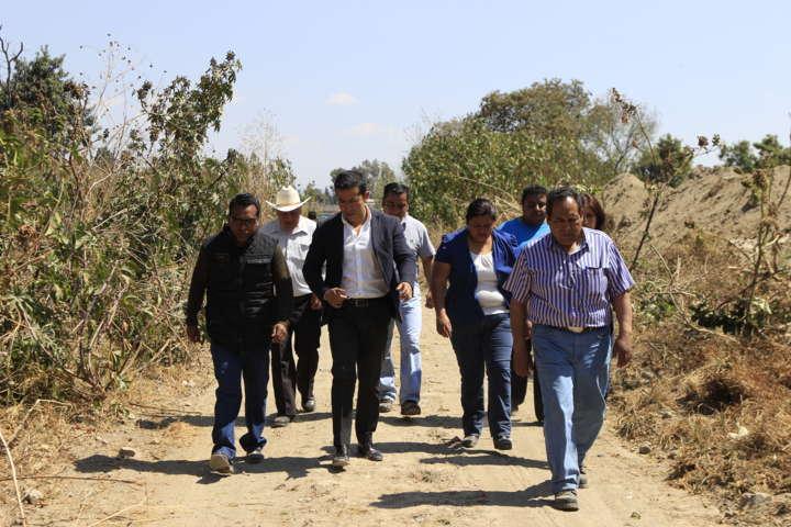 Agradece Bladimir Zainos al Gobernador el desazolve de la barranca Briones