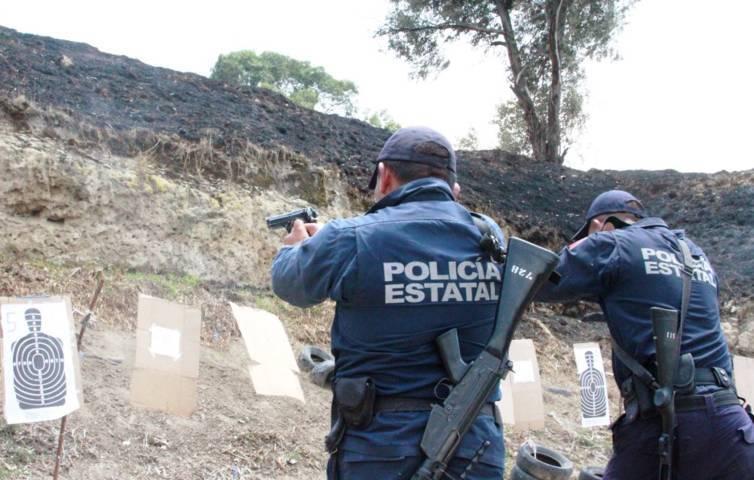 La CES entrena a sus elementos en armamento y tiros de precisión