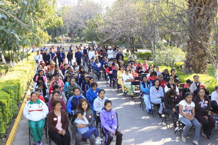 Conmemoración del Día Internacional de la Mujer en Tepeyanco