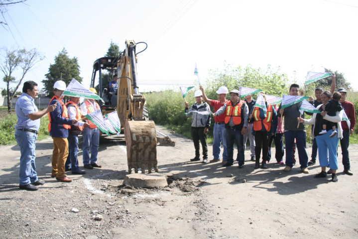 Carin Molina puso en marcha 354 ml de drenaje en la Domingo Arenas