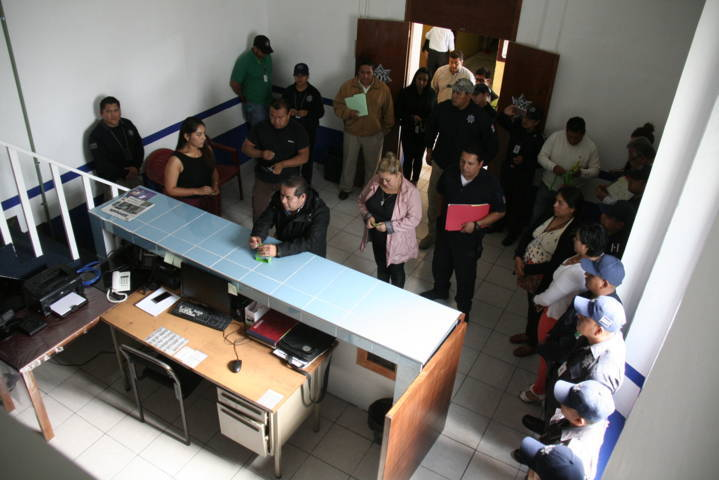 Carin Molina entrega instalaciones dignas a policías municipales
