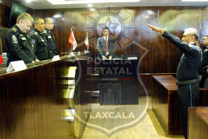 Por primera vez, el consejo de honor y justicia de la ces otorga un grado policial en tlaxcala