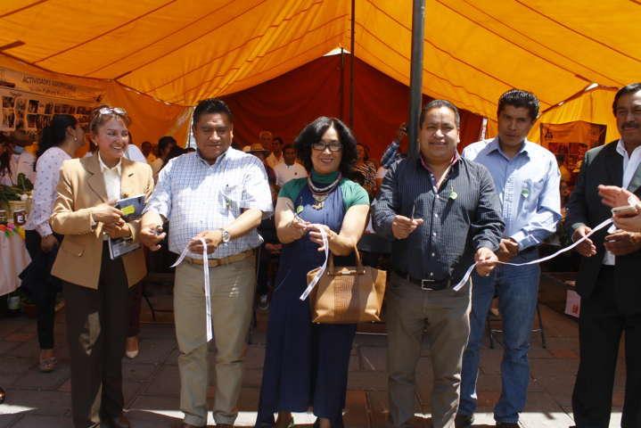 Todo un éxito el 1er intercambio agropecuario de Misiones Culturales en Amaxac
