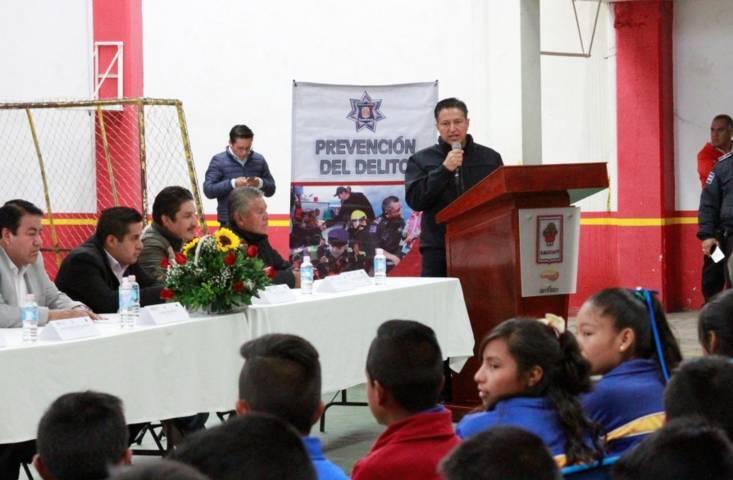 Concluye con éxito la Semana de prevención del delito en la Magdalena Tlatelulco