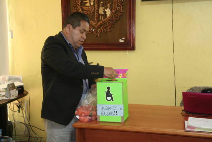 El Ayuntamiento se suma a la recolecta de tapas para beneficiar a personas vulnerables