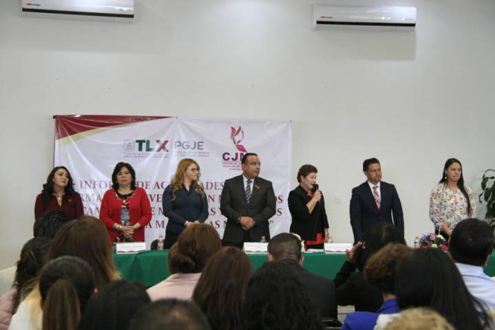 Ayuntamiento y Centro de Justicia para las mujeres signan convenio de colaboración