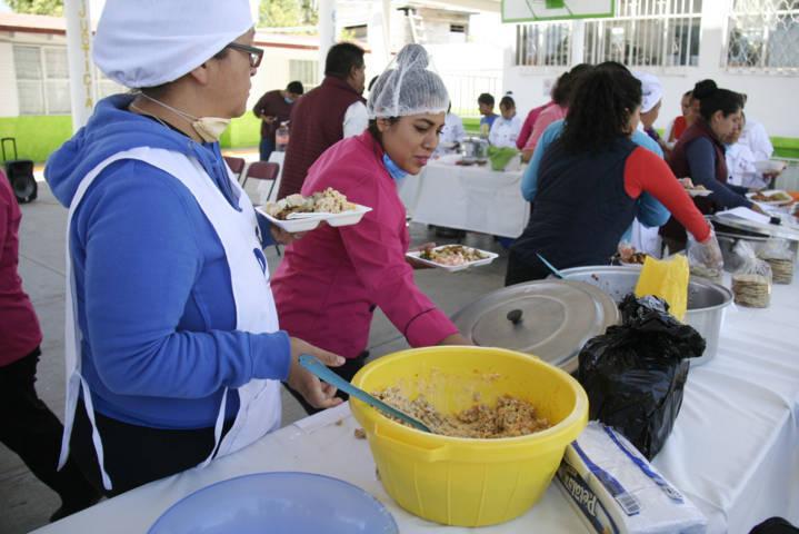 Amaxac fue cede de la capacitación a comités de desayunadores escolares