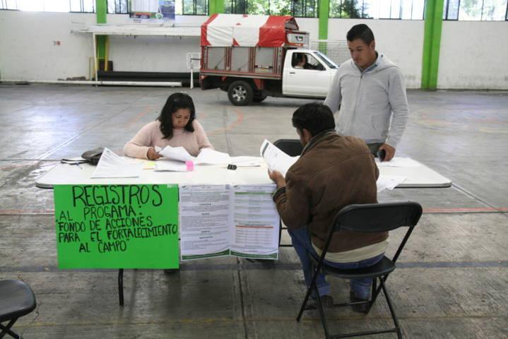 Ayuntamiento promueve acciones para el fortalecimiento al campo