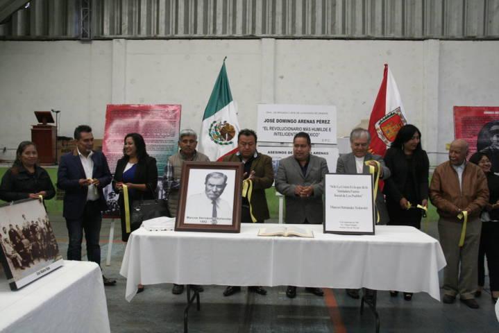 """Carin Molina inaugura exposición fotográfica """"Revolucionarios Tlaxcaltecas"""""""