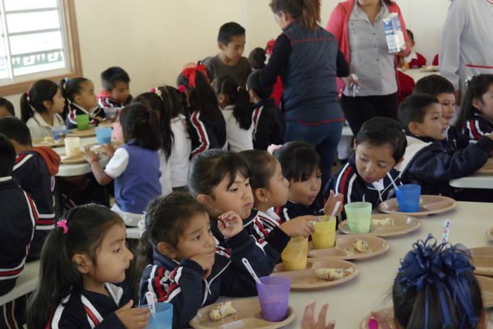 Con este desayunador los niños mejoraran su aprendizaje: Angélica Hernández