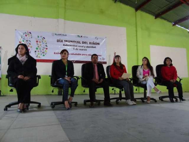 Conmemoran SESA el Día Mundial del Riñón