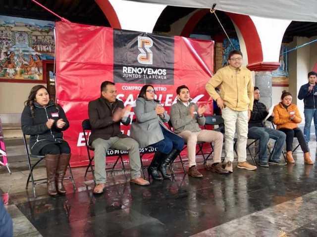 RJ celebra Asamblea en Chiautempan